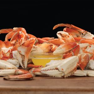 Dungeness Crab Sections