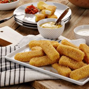 Gluten-Free Fishsticks - Cooked