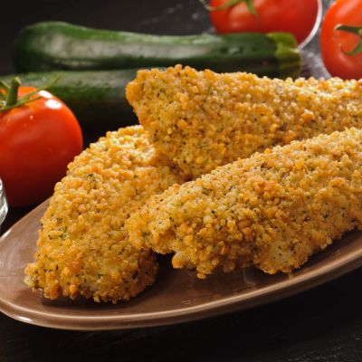 Gluten-Free Parmesan Encrusted Cod - Cooked
